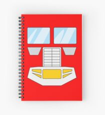 Optimus Prime - Transformers 80s Spiral Notebook