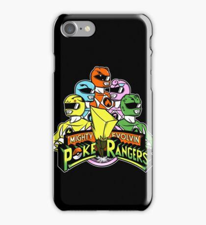 Poke Rangers iPhone Case/Skin