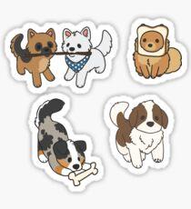 Pupper Aufkleber Sticker