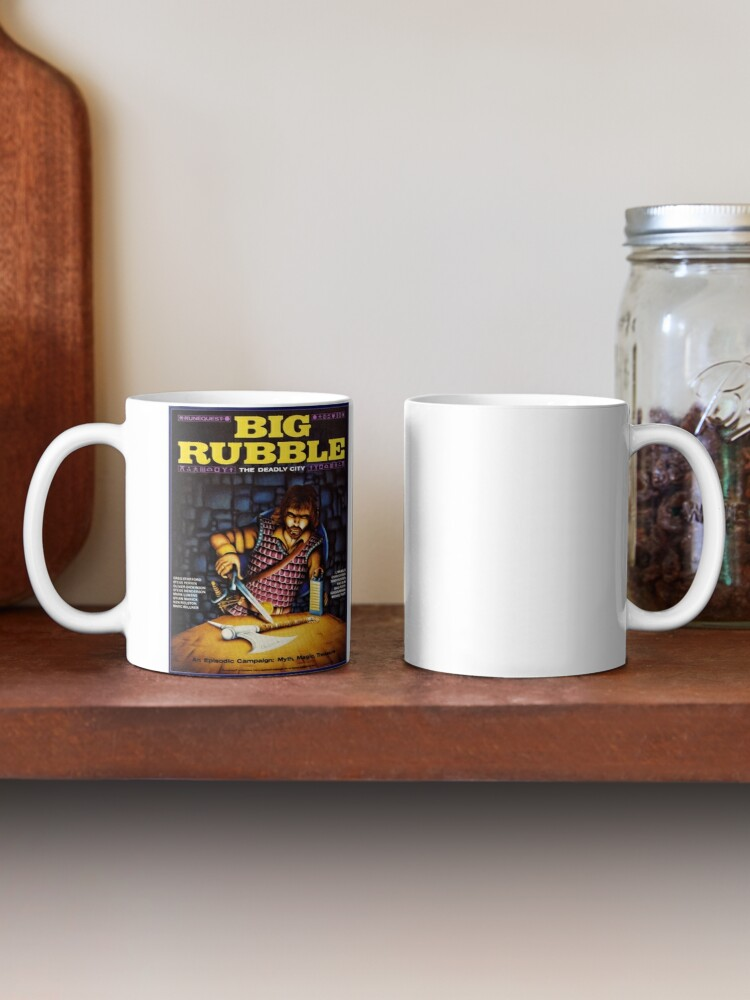 Alternate view of Big Rubble cover Mug