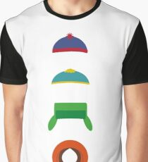 Minimalist cool south park design Graphic T-Shirt
