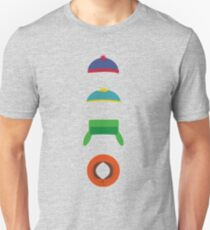 Minimalist cool south park design Unisex T-Shirt