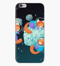 Red Space Pandas iPhone Case