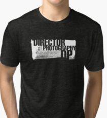 Film Crew II. Director of Photography / DoP. Tri-blend T-Shirt