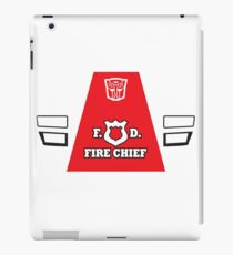 Red Alert - Transformers 80s iPad Case/Skin
