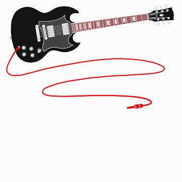 Solid Guitar - Black by citizentang