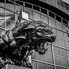 panther statue by ALEX GRICHENKO