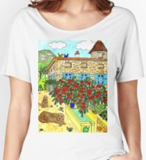 Beautiful Farm of Brigaudière Women's Relaxed Fit T-Shirt