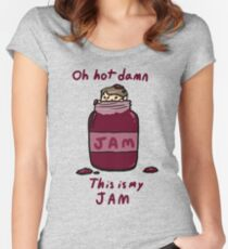 John's Jam Women's Fitted Scoop T-Shirt