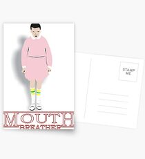 Mouth Breather Stranger  Postcards
