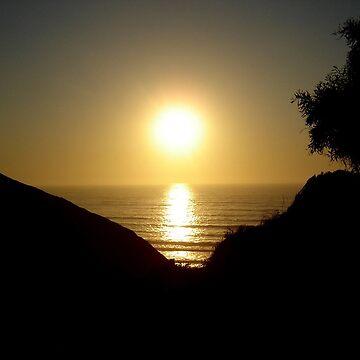 Sunset @ Amalia's Beach by NyiZla