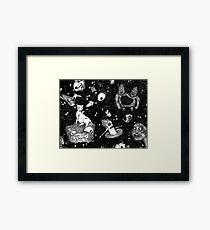 I Like Your Monsters + Demons Framed Print