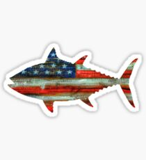 USA Merica Tuna Sticker