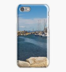 Lossie West Beach Marina iPhone Case/Skin
