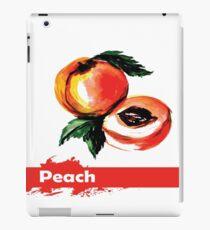 fruit peach,Hand drawn watercolor  iPad Case/Skin