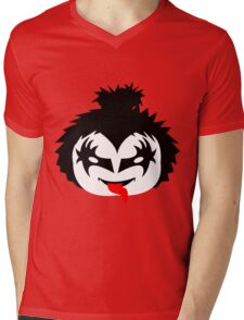 KISS - The Demon Gene Simmons Chibi Mens V-Neck T-Shirt