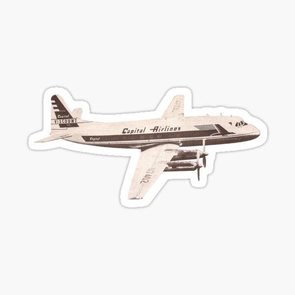 Capitol Airlines Airplane sticker Sticker
