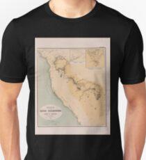 0675 Routen in der Sinai Halbinsel Unisex T-Shirt