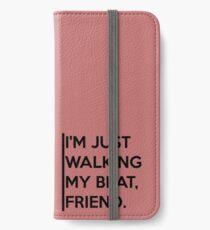 Walking my Beat iPhone Wallet/Case/Skin