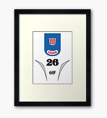 Mirage - Transformers 80s Framed Print