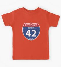 Hyperspace Bypass 42 Kids Tee