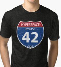 Hyperspace Bypass 42 Tri-blend T-Shirt
