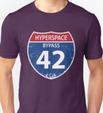 Hyperspace Bypass 42 Unisex T-Shirt