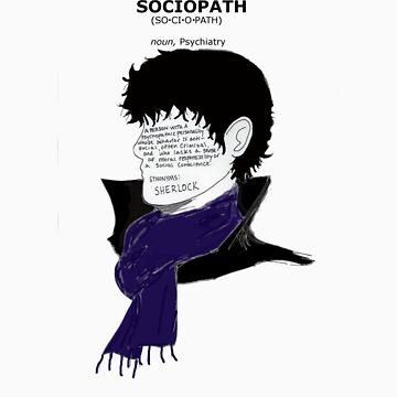 Sherlock Sociopath by toriAlin