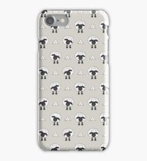 Sheep (Natural Colour Background) iPhone Case/Skin