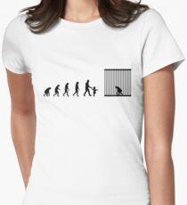 99 steps of progress - Respect for elders Women's Fitted T-Shirt