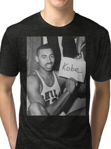 Kobe's 80 point game and Wilt's 100 point game Mashup  Tri-blend T-Shirt