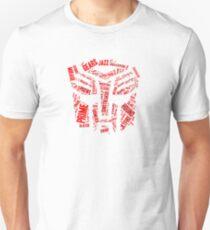 Transformers - Autobot Wordtee Unisex T-Shirt