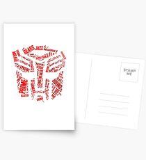 Transformers - Autobot Wordtee Postcards