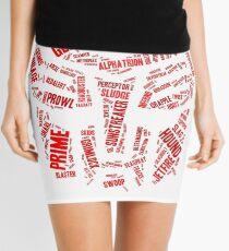 Transformers - Autobot Wordtee Mini Skirt