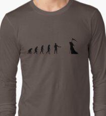 99 Steps of Progress - Courtesy Long Sleeve T-Shirt