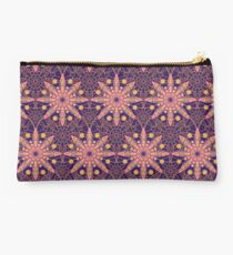 Lacy tile pattern Studio Pouch