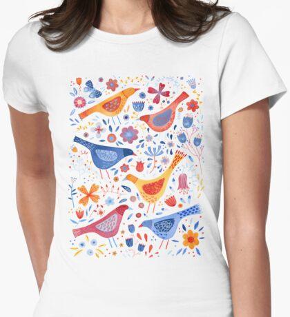 Birds in a Garden T-Shirt