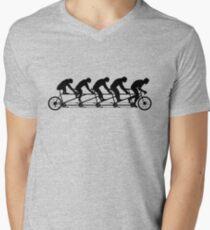 99 Steps of Progress - Vitamins Men's V-Neck T-Shirt