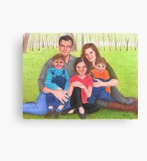 Caskett family  Canvas Print