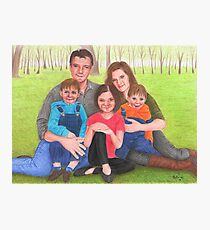 Caskett family  Photographic Print