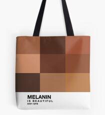 Melanin Pantone Tote Bag