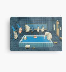 The Bathers Metal Print