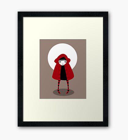 Little Red Riding Hood Framed Print