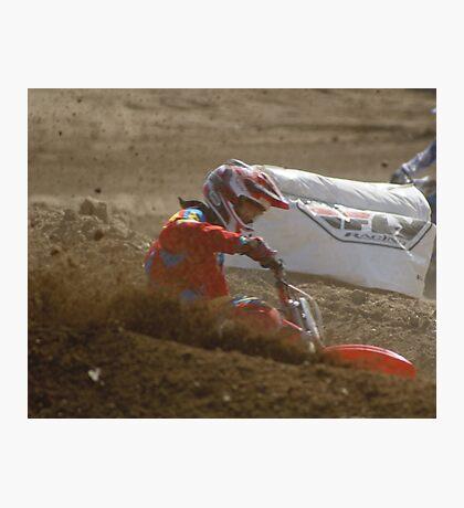 #6 Nice Corner Roost Loretta Lynn's SW Area Qualifier Competitive Edge MX - Hesperia, CA. USA  Photographic Print