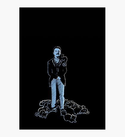 David Bowie As Tesla Photographic Print