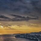 Yellow sunset  by Alessandra Antonini