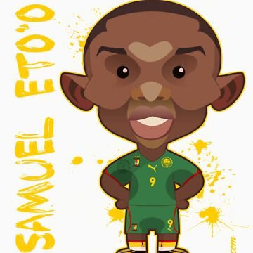 Samuel Eto'o World Cup by alexsantalo