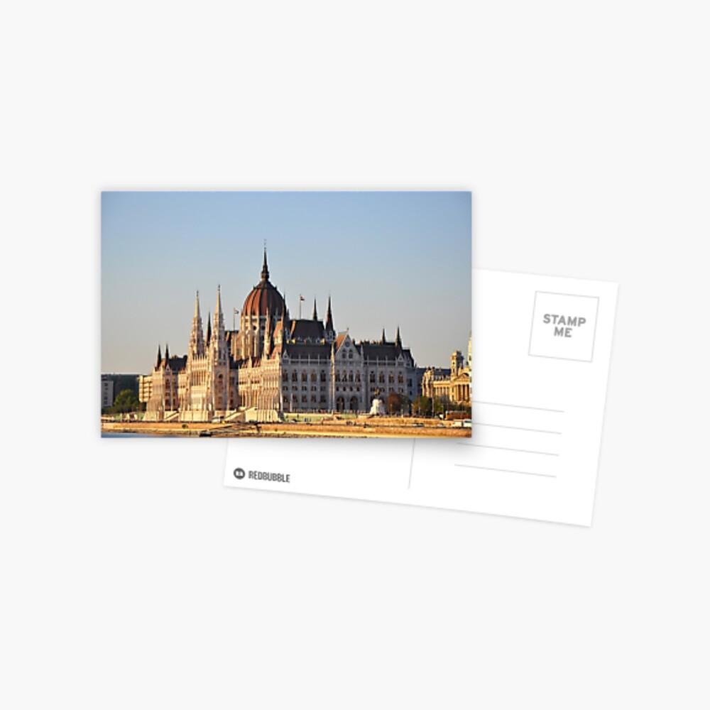 Parliament Building, Budapest, Hungary Postcard