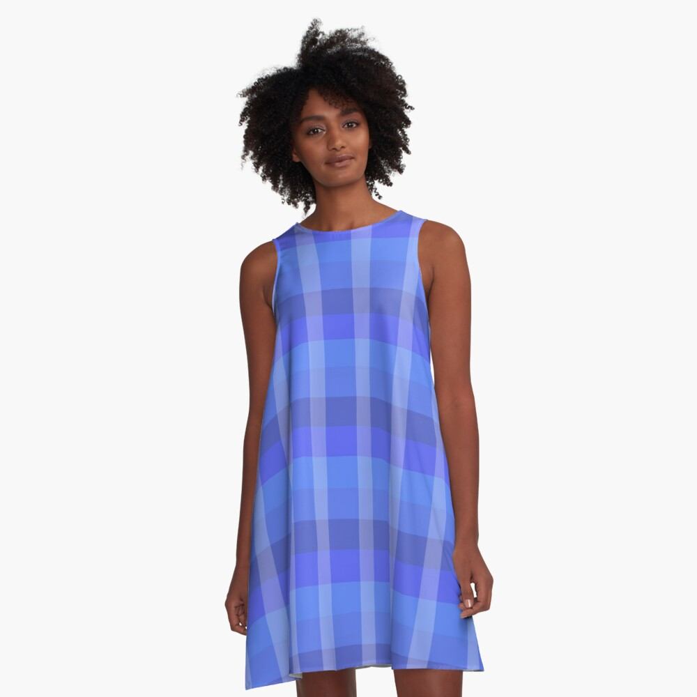 Winter's Flannel A-Line Dress