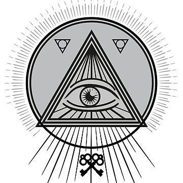 Hermetic Sigil [Dark Version] by TayRobertsArt